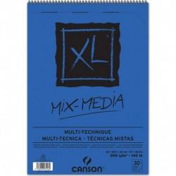 ALBUM CANSON XL MIX MEDIA A3 300GR SPIRA