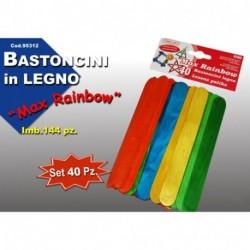 BASTONCINI LEGNO COLOR - 953102