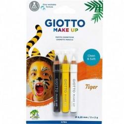 MAKE UP GIOTTO MATITE TIGER BL. 3PZ