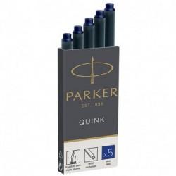 CARTUCCE PARKER QUINK 5PZ BLU - 1950384