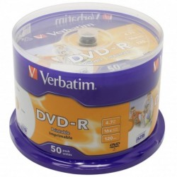 DVD+R CAMPANA 50PZ VERBATIM SPINDLE 120'