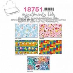 CARTA REGALO 50FF 100X140 KIDS - 18751