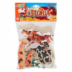 ANIMALI FATTORIA 15PZ IN BUSTA - 38102