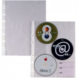 BUSTE ATLA FORATE PER CD 3 A4 PZ.10