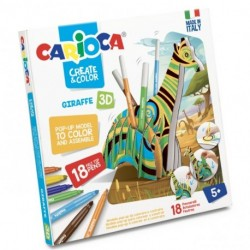 CREATE & COLOR GIRAFFE CARIOCA - 42901