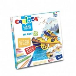 CREATE & COLOR MR BOAT CARIOCA - 42905
