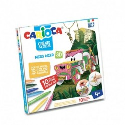 CREATE & COLOR MISS WILD CARIOCA - 42906