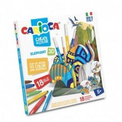 CREATE & COLOR ELEFHANT CARIOCA - 42902