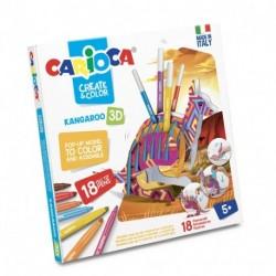 CREATE & COLOR KANGAROO CARIOCA - 42903