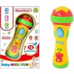 BABY MICROFONO MONDO BIMBI - 62531