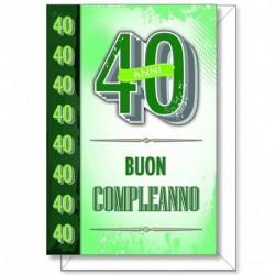 BIGLIETTI COMPLEANNO 3D - 51366-2