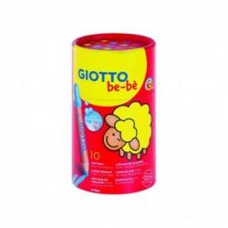 GIOTTO BEBE' BARATTOLO 10 MATITONI