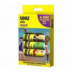 COLLA  6X21GR STICK UHU COLLECTION -