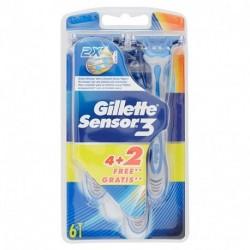 RASOI GILLETTE SENSOR 3 4+2 - 442006