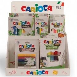 ESPOSITORE CARIOCA DISPLAY BANCO FABRIC