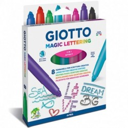 ASTUCCIO GIOTTO LETTERING 8PZ - 426500