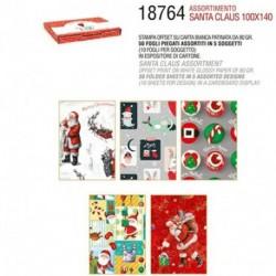 CARTA REGALO 50FF 100X140 5X10 NATALE -