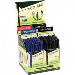 PENNA FILA TRATTO 1 GREEN PLASTIC 200PZ