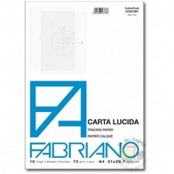 BLOCCO CARTA LUCIDA A4+ 82GR.10F.