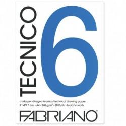 ALBUM DISEGNO FABRIANO TECNICO 6 A4