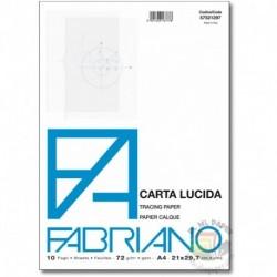 BLOCCO CARTA LUCIDA A4 82GR.10F. FABRIAN