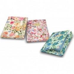 CARTELLA 3 LEMBI PIGNA NATURE FLOWERS -