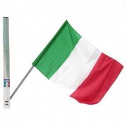BANDIERA ITALIA CON ASTA 60X90 - 004746