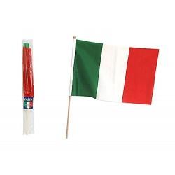 BANDIERA ITALIA CON ASTA 30X45 - 00475