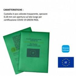 BUSTA PORTA GREEN PASS VERDE - 500